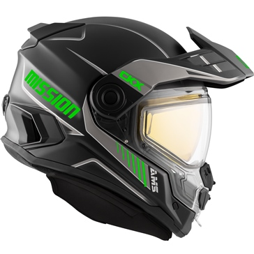 CKX Casque intégral Mission AMS Tracker - Hiver