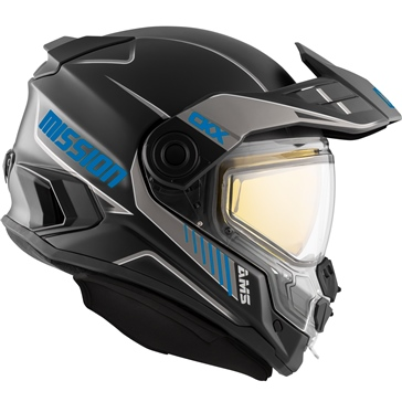 CKX Mission AMS Full Face Helmet Tracker - Winter