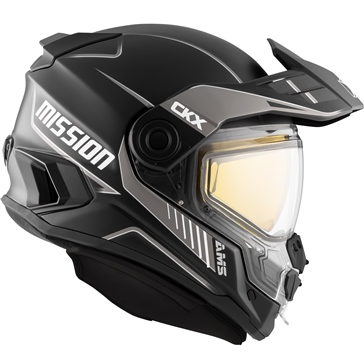CKX Mission AMS Full Face Helmet Tracker
