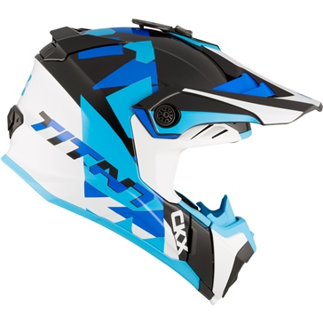CKX Titan Off-Road Helmet, Summer Splinter - Without Goggle