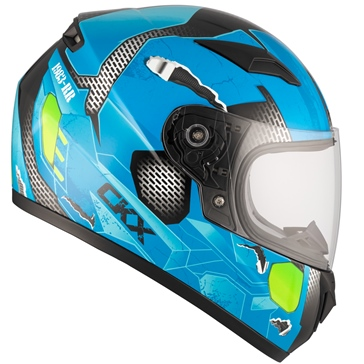 CKX RR519Y Full-Face Helmet, Summer - Youth Cosmos - Summer