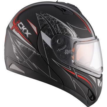 CKX Tranz RSV - Modular Helmet, Winter Blaster
