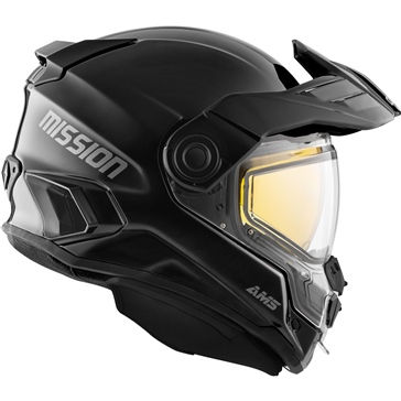 CKX Mission AMS Full Face Helmet Solid - Winter