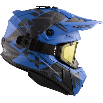 CKX Titan Original Backcountry Helmet, Winter Climb - Included 210° Goggles