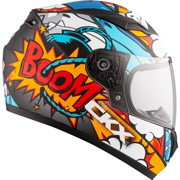 CKX RR519Y Full-Face Helmet, Summer - Youth Vortix - Summer