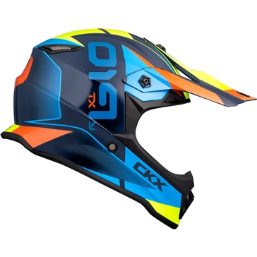 CKX Casque Hors-Route TX019Y Force