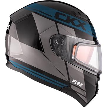 CKX Flex RSV Modular Helmet, Winter Artik