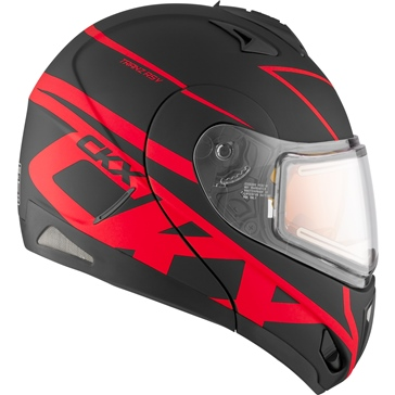 CKX Tranz RSV - Modular Helmet, Winter Spy