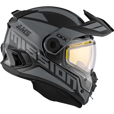 CKX Mission AMS Full Face Helmet Space - Winter