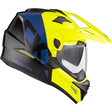 CKX Quest RSV Off-Road Helmet, Summer Bull - Without Goggle