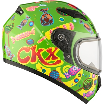 CKX RR519Y Full-Face Helmet, Winter - Youth Candy - Winter