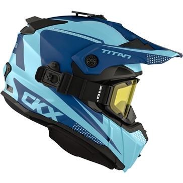 CKX Titan Original Backcountry Helmet, Winter Roost - Included 210° Goggles
