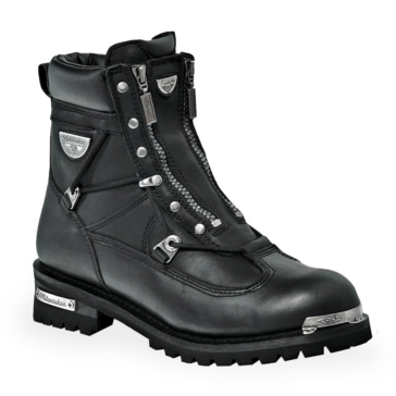 Men - Throttle - Black MILWAUKEE Boots, Throttle