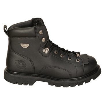 Men - Solid Color MILWAUKEE Nightrider Boots