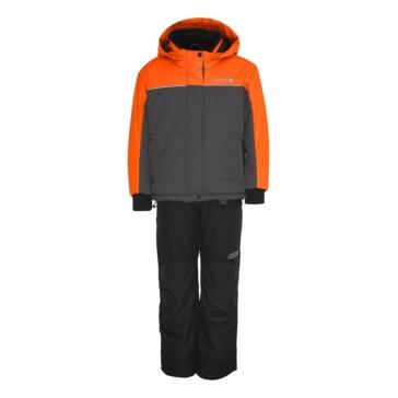 Ensemble de manteau et salopette Frosty CKX Enfant - Couleur unie - Orange