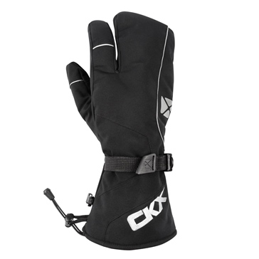 CKX Throttle Mittens 3-Fingers Men, Women