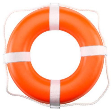 Dock Edge  Dolphin Life Ring Buoy 20""