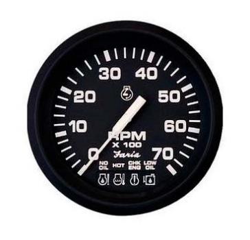 Faria Euro Series Tachometer Boat - 660502