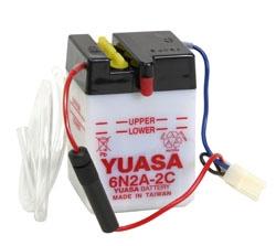 Yuasa Battery Conventional 6N2A-2C