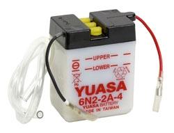 Yuasa Battery Conventional 6N2-2A-4