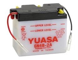Batterie conventionnelle YUASA 6N4B-2A