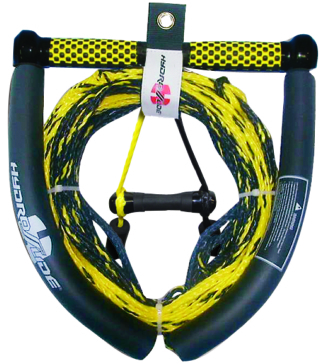 5 section kneeboard tow rope HYDROSLIDE Kneeboard Rope
