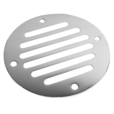 SEA DOG Drain Cover with Air Vent Stainless steel