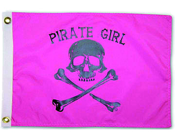 "Drapeau TAYLOR MADE ""Pirate Girl"""