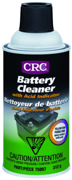 12 oz CRC Battery Cleaner with Acid Indicator