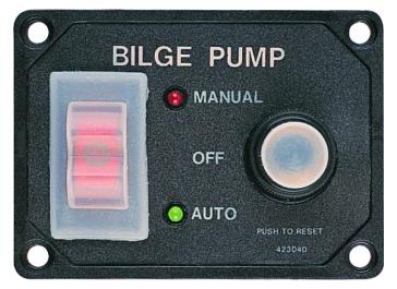 SEA DOG Panneau d'interrupteur de pompe de cale