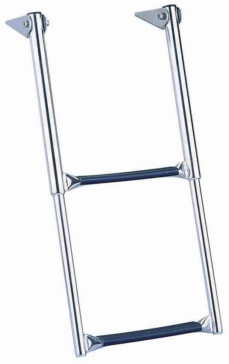 GARELICK Over Platform Telescoping Drop Ladder Telescopic - 2