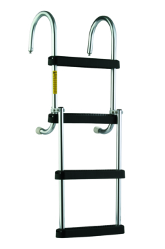 GARELICK Removable Folding Pontoon Ladder Foldable - 2 to 4