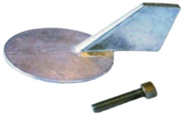 PERFORMANCE METAL Trim Tab Anode 60 - 90 hp