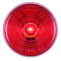 "Optronics Round Trailer LED  2"" Red"