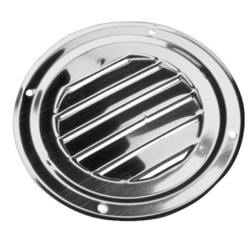 Stainless steel SEA DOG Round Louvered Vent