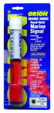 Signal fumigène marine, orange et portat ORION