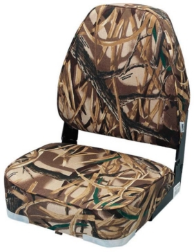 Fold-Down Seat WISE Camouflage Seat with Plastic Frame