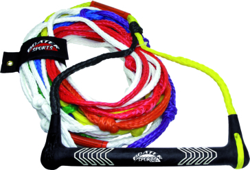 8 section ski tow rope KIMPEX Pro Champ Color Coded Watersports Rope
