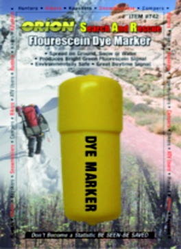 Colorant marqueur «DYE Marker» fluorescent ORION