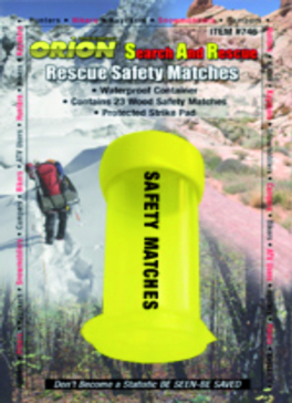 ORION Safety Matche