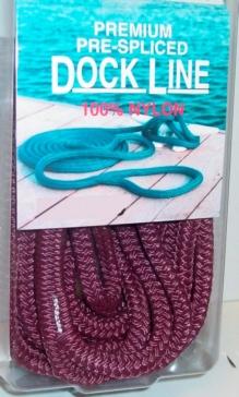 Cordage d'amarrage en nylon à double tressage BRIDGELINE