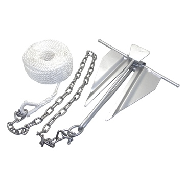 KIMPEX Anchor Kit (Chain, Rope & #7 Slip Ring)