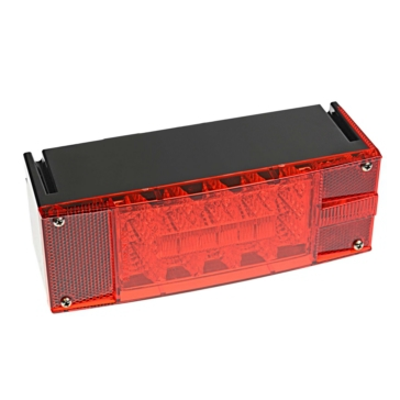 Kimpex Right Side LED Low Profile Trailer Taillight Red