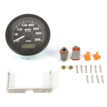 SIERRA Speedo GPS, Black Premier Pro 2-Stroke, 4 Stroke, 2 cyl. or less - 705120