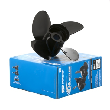 Turning Point Hustler Propeller Fits Johnson/Evinrude, Fits Honda, Fits Mercury, Fits Mercruiser, Fits OMC, Fits Volvo, Fits Suzuki, Fits Yamaha - Aluminium