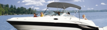 TAYLOR MADE Toit de bateau Hot Shot™ Bimini BoaTops