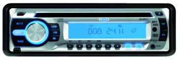 JENSEN AM/FM/CD Stereo and DVD Player