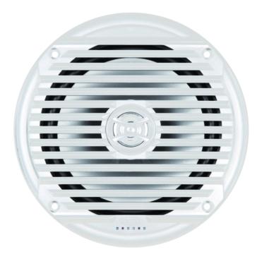 "JENSEN 6-1/2"" Coaxial White Marine Speaker Universal"