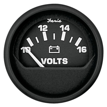 FARIA Euro Series Voltmeter