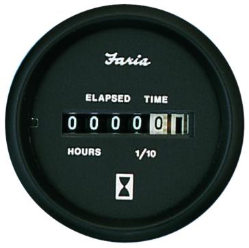 FARIA Euro Series Hourmeter